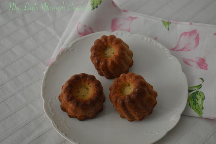 Cannelés aux amandes sans gluten sans lait