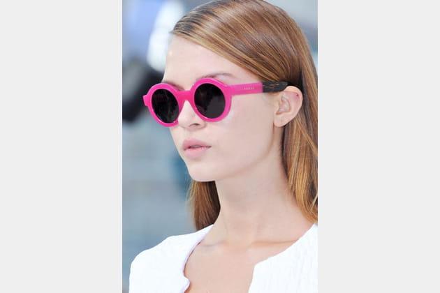 Les lunettes roses de Preen by Thornton Bregazzi