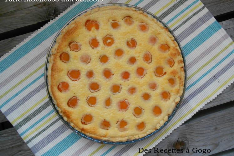 Recette de tarte moelleuse aux abricots la recette facile - Recette de tarte aux abricots ...