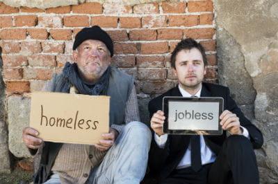 sans abris sans travail