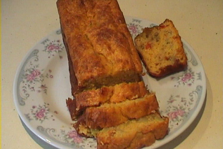 Cake aux légumes de ratatouille