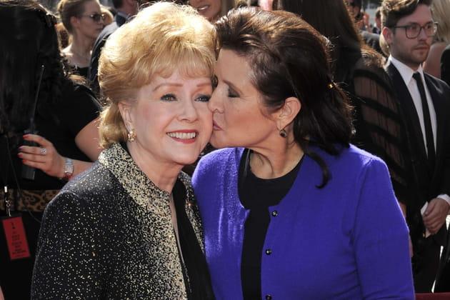 Debbie Reynolds et Carrie Fisher, toujours très complices