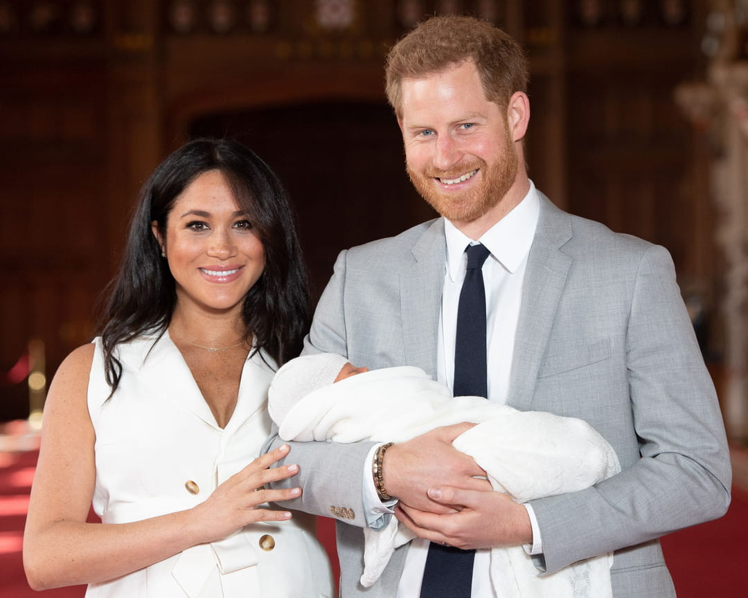 Meghan-markle-harry-photos-archie-harrison
