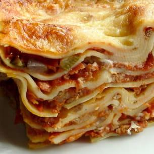 lasagnes à la scamorza