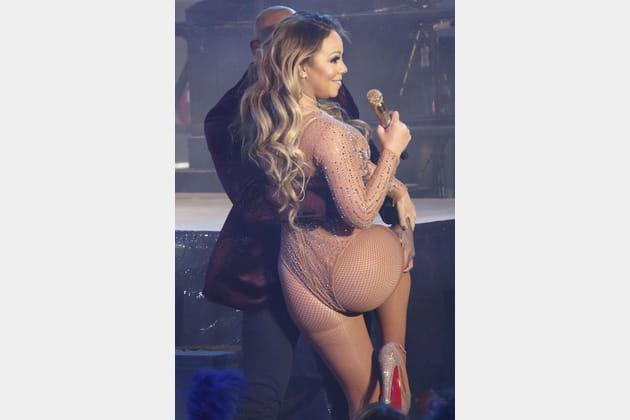 Mariah Carey côté pile