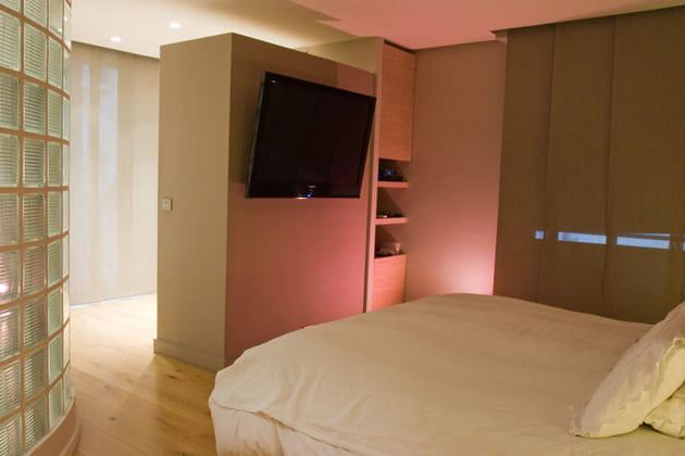 Chambre design et fonctionnelle