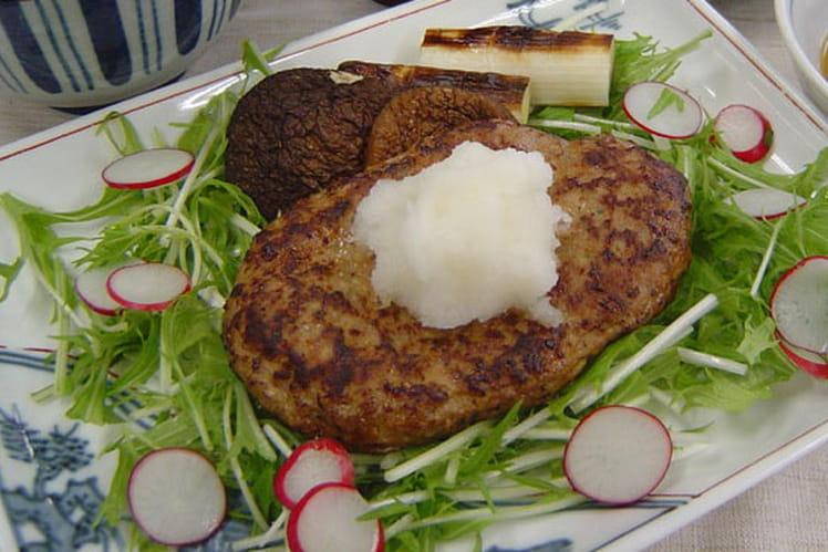 Steaks végétariens au riz complet