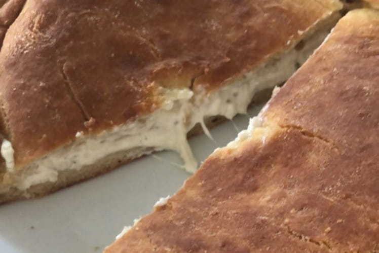 Pain georgien au fromage khachapuri