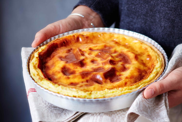 Flan pâtissier à la vanille au Monsieur Cuisine
