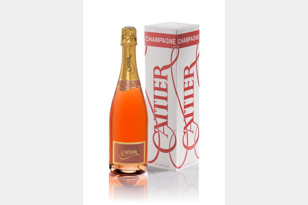 Champagne Glamour rosé de Cattier