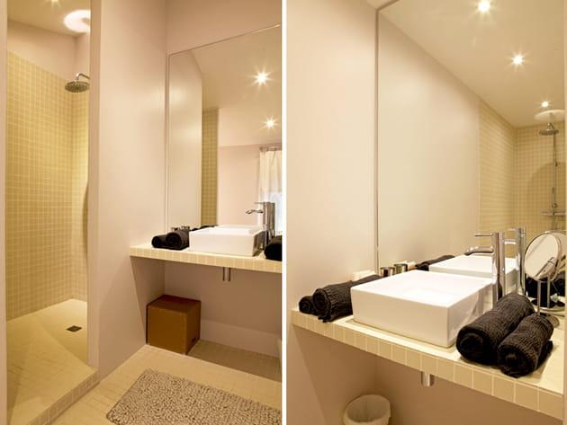 Des salles de bains contemporaines