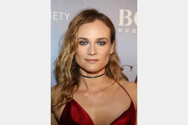 Les boucles décontractées de Diane Kruger