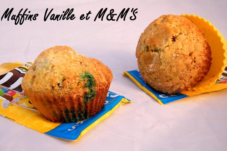 Muffins vanille & M&M'S