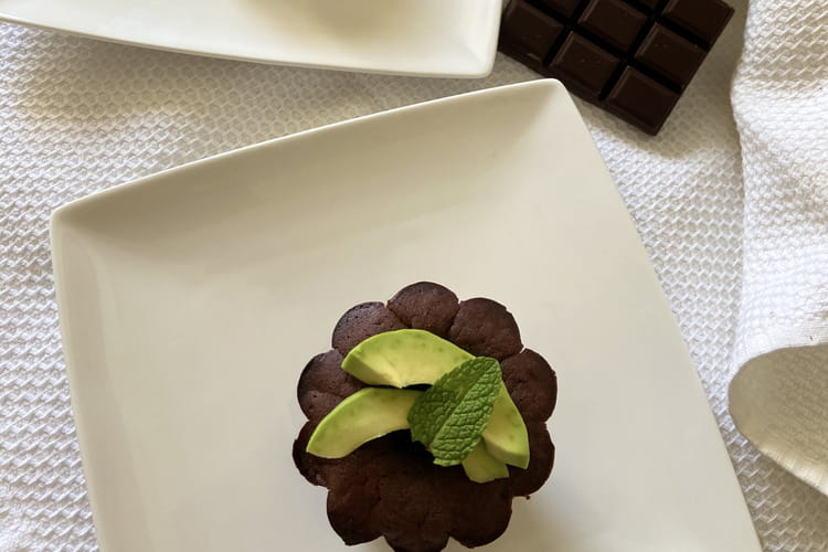 Moelleux au chocolat vegan (à l'avocat)