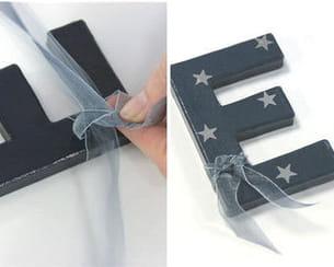 customiser la lettre e
