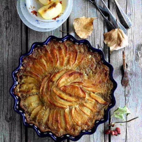 Gateau Aux Pommes Vanille Et Cannelle