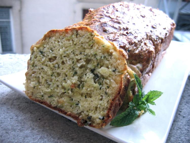 Recette Cake Chevre Courgette Emental