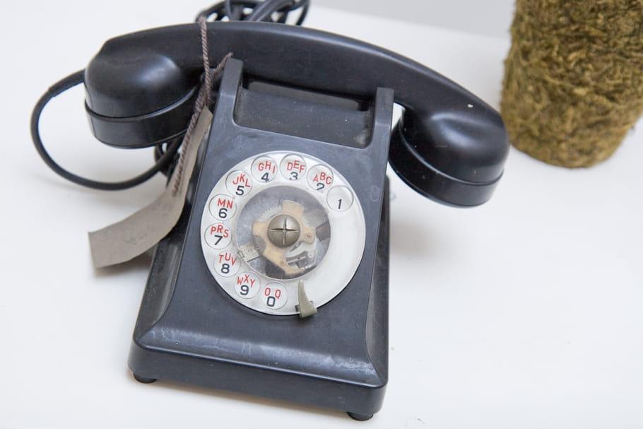 Le truc à chiner: un ancien téléphone à cadran