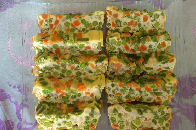 Flan-terrine aux légumes