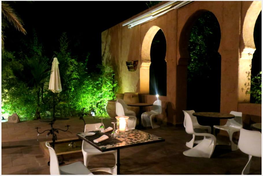 La terrasse du restaurant