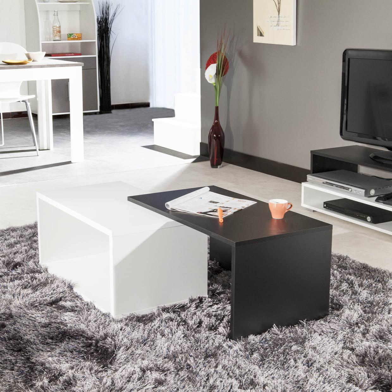 table basse gigogne moye par la camif. Black Bedroom Furniture Sets. Home Design Ideas