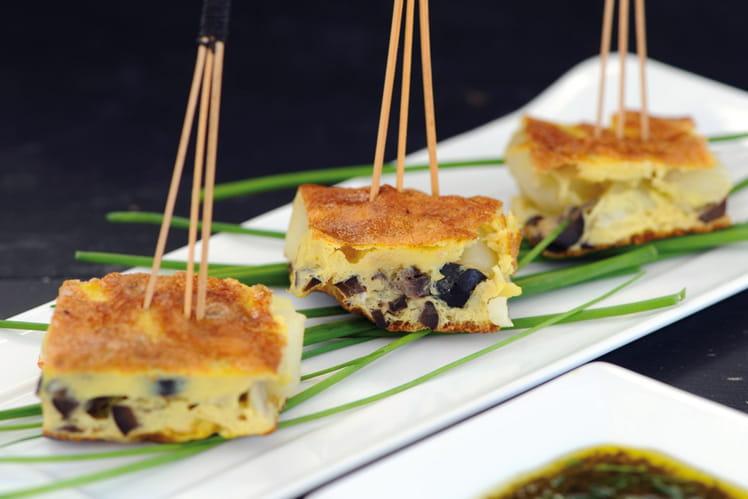 Tortilla de pommes de terre Dolwen aux olives