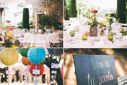 Mariage couleurs pastels : Les Cocottes
