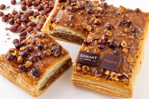 La galette carrée d'Edwart Chocolatier et Carl Marletti