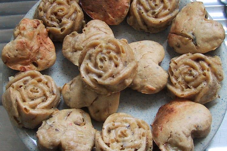 Muffins aux champignons