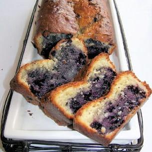 cake au fromage blanc et aux myrtilles