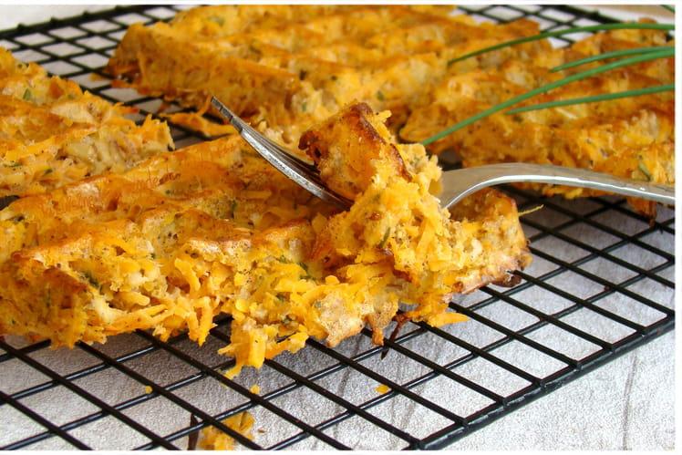 Gaufres légères à la patate douce