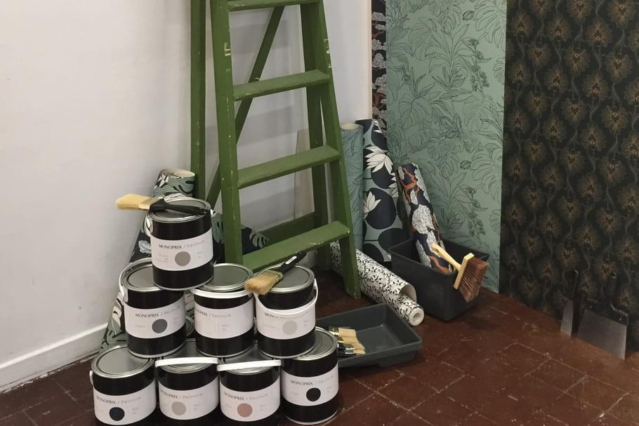 Monoprix lance une gamme de peintures