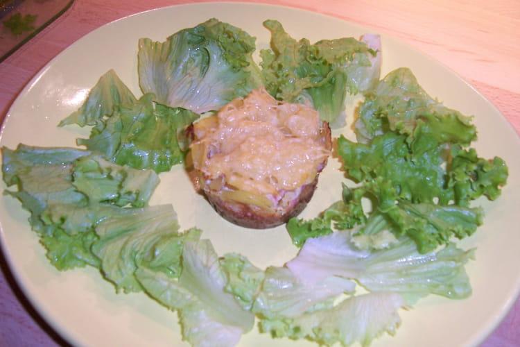 Timbale de pommes de terre au jambon