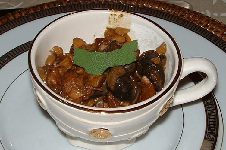 Escargots au champagne