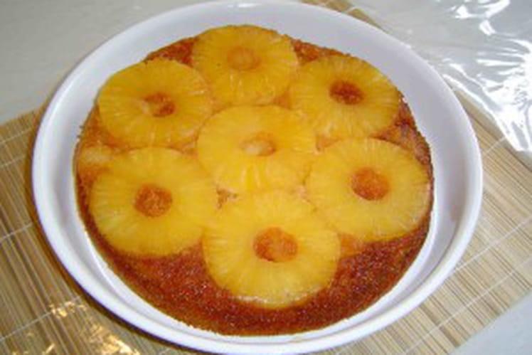 Gâteau ananas coco