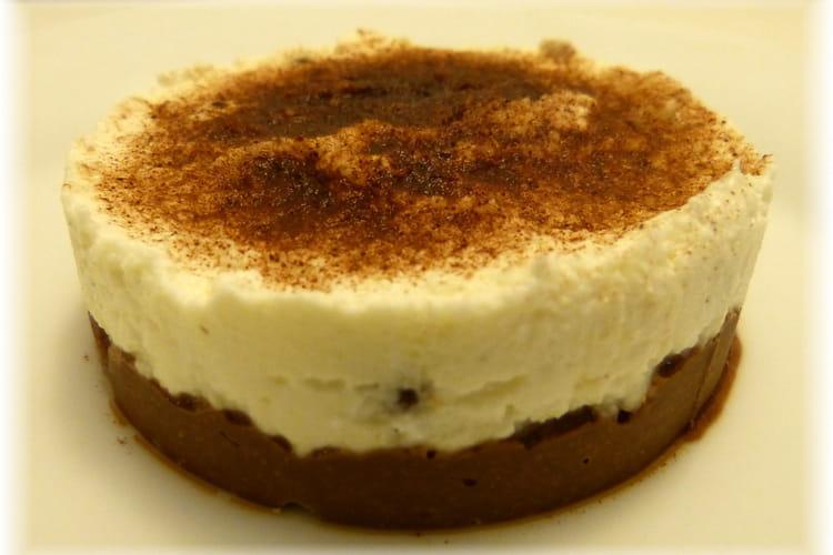 Cheesecake aux pépites de chocolat