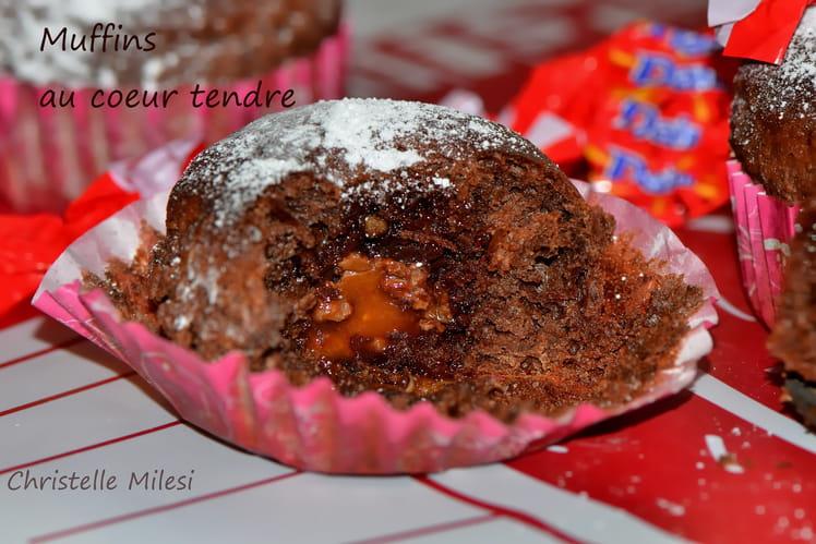 Muffins au cœur tendre