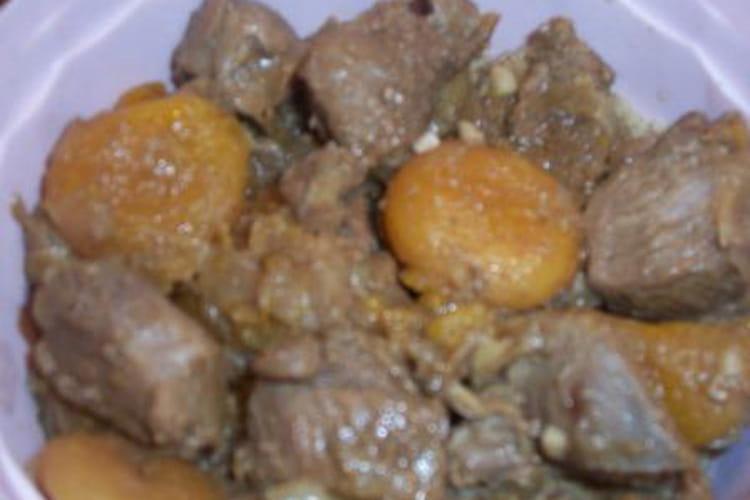 Dinde aux abricots
