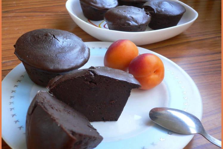 Petits fondants chocolat-ricotta