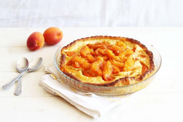 Dutch baby pancake aux abricots (sans poêle en fonte)