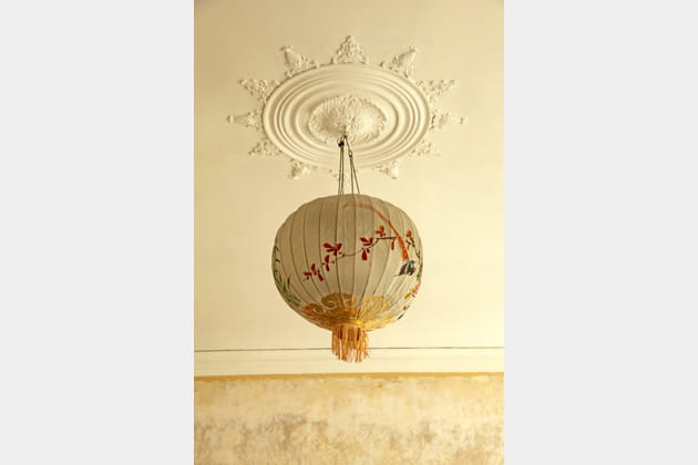 La rosace classique avec lanterne asiatique