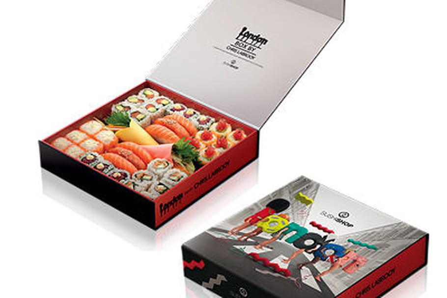 Concours Sushi Shop : gagnez des London Box signées Chris Ladbrooy