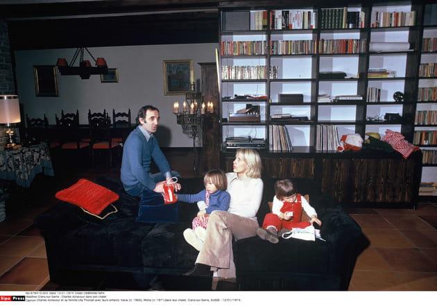 Vacances en famille, en 1971