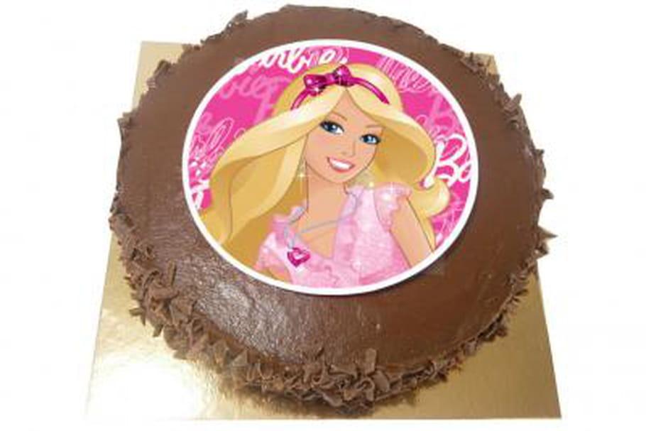 Un gâteau à l'effigie de Barbie