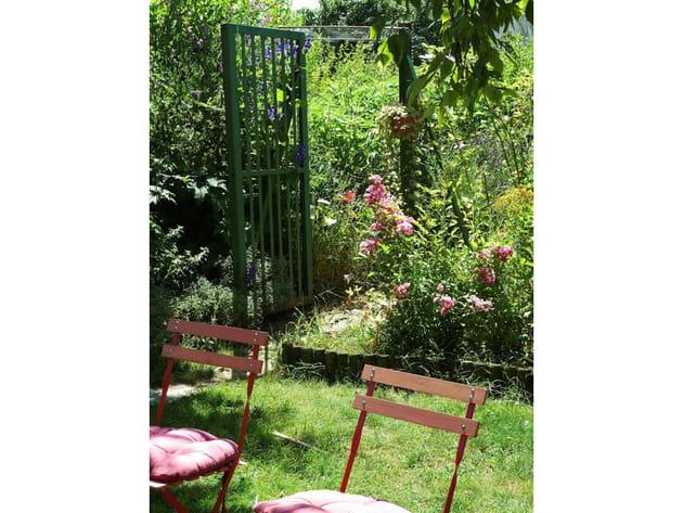 Un jardin à la campagne
