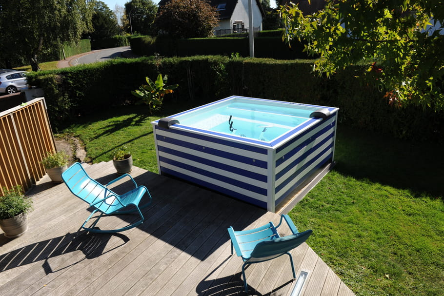 Coup de c ur la mini piscine color e doodoopool for Construire mini piscine