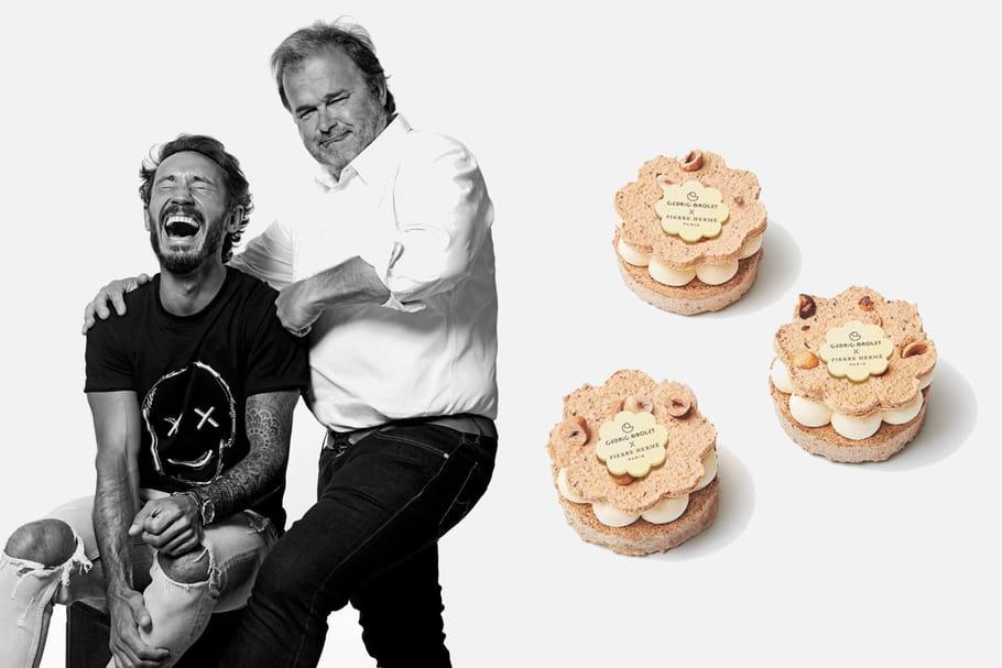 Cédric Grolet X Pierre Hermé: un dessert, deux grands pâtissiers