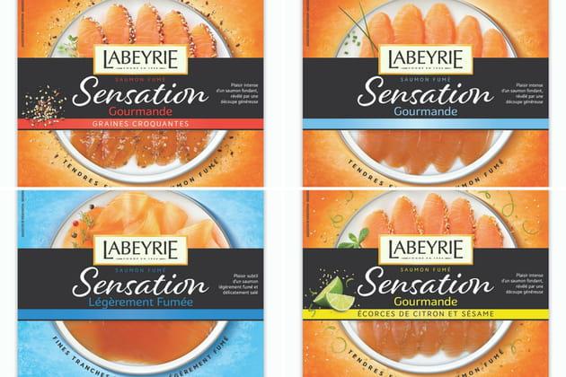 La nouvelle gamme Sensation de Labeyrie