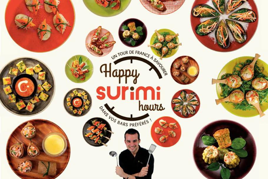 Le surimi passe en happy hour