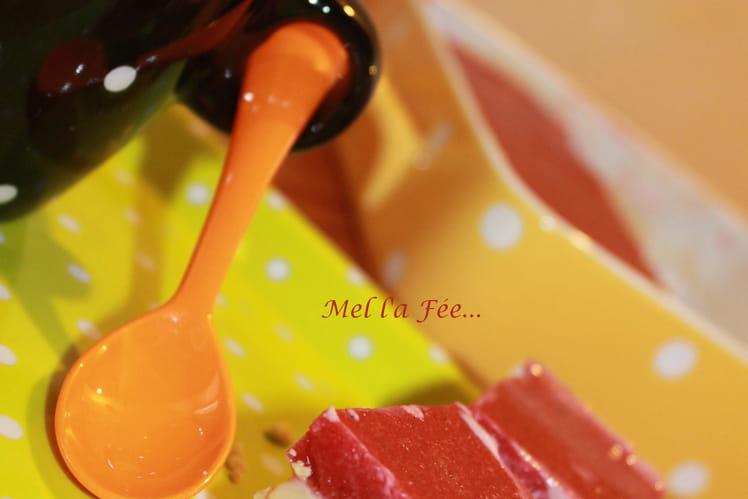Shortbread revisité à la fraise et flocon d'avoine
